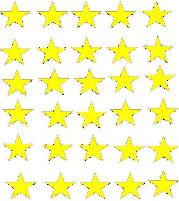 EXTRA GOLD STARS